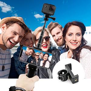 handheld selfie stick