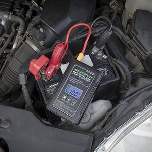 12V 16000mAh Paquete de bater/ías de Emergencia y el Cargador Gasolina Diesel Motor de Arranque autom/ático Construido en un Luces LED y br/újula MTSBW del Salto del Coche del arrancador