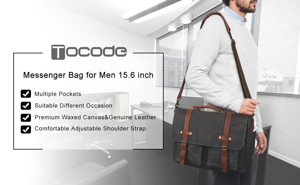 Laptop Bag Vintage Retro Hipster Style Sketch Funny 15-15.4 Inch Laptop Case Briefcase Messenger Shoulder Bag for Men Women College Students Busine