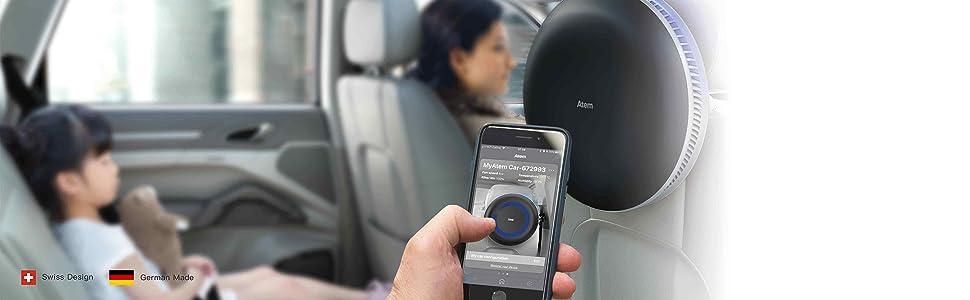 smart features include atem mobile app