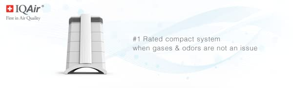 HealthPro Compact #1 Rated compact system when gases & odors are not an issue