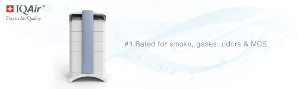 GCMulti Gas #1 Rated for smoke, gases, odors & MCS