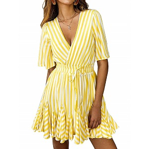 Ruffles of Summer Dress