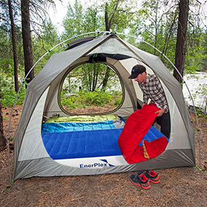 enerplex inflatable air mattress airbed camping bed