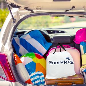 enerplex air mattress air bed inflatable carry bag