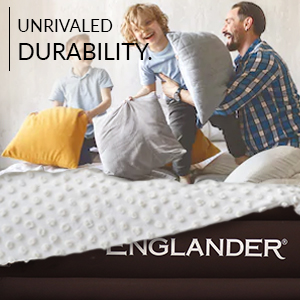 englander air mattress durable quality luxury airbed built in pump kid friendly family friendly