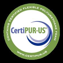 certipur-us certified memory foam