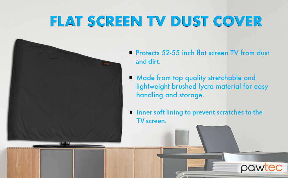 """Indoor TV Cover Stretchable Protection Sleeve for 55/"""" LED LCD TV OLED"""