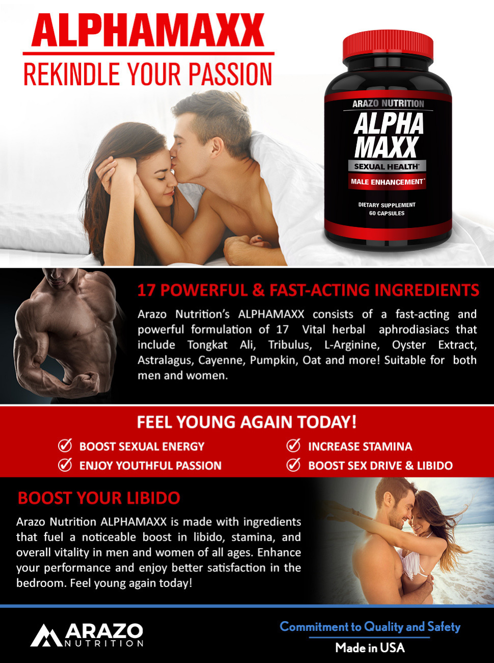 AlphaMAXX Male Enhancement Supplement