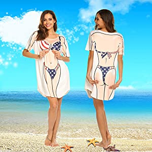 bikini shirt cover up