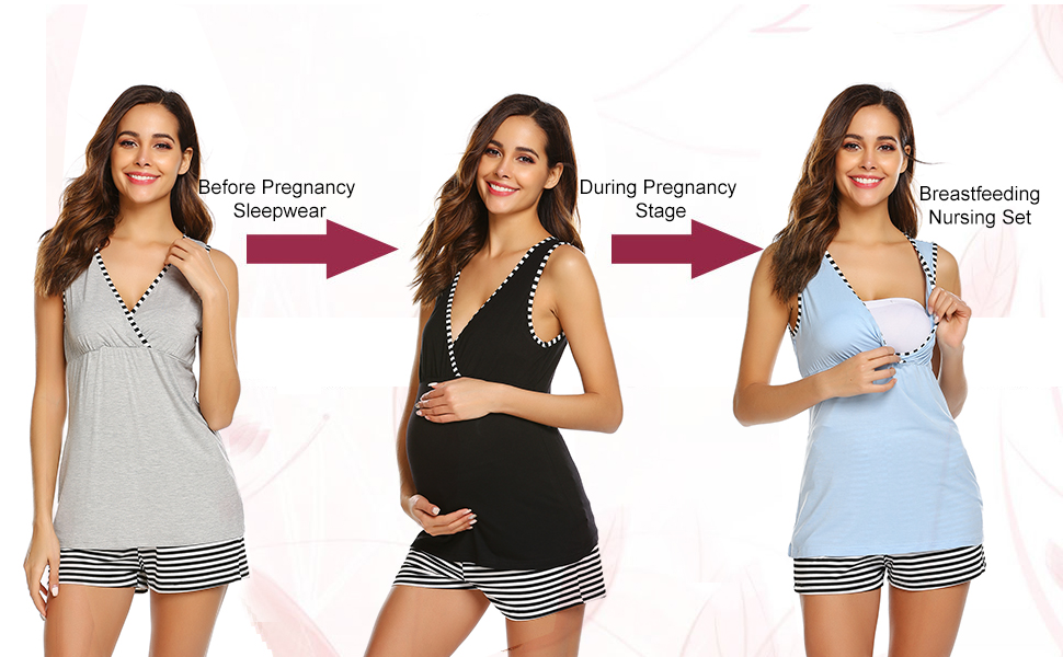 Maternity Nursing pjs Set