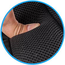 Cafele Laptop backpack for school Multi-panel airflow back