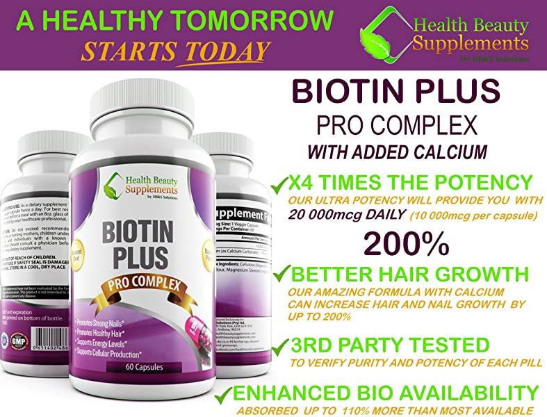 SEARCH FOR THE BEST 4X TIMES THE STRENGTH BIOTIN