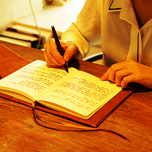 lay flat journal