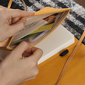 organizer journal yellow color