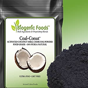 Coal-Conut activated charcoal powder