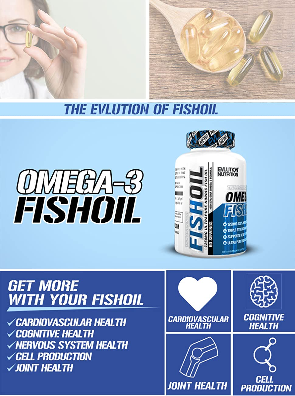 omega 3 fish oil evlution