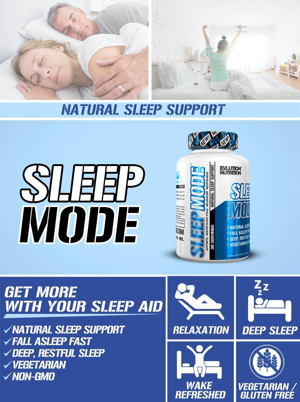 Sleep mode, Sleep aid, Evlution