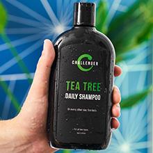 challenger shampoo tea tree