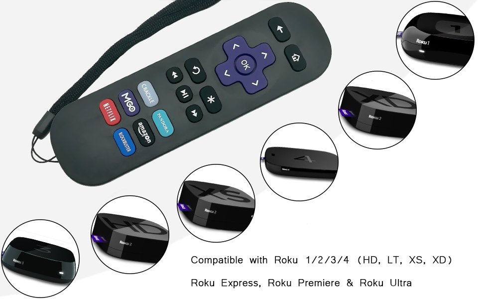 Amazon Gvirtue Replacement Lost Remote Control Compatible With