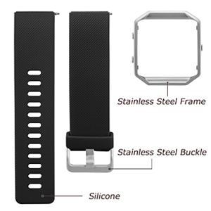 smart watch band black