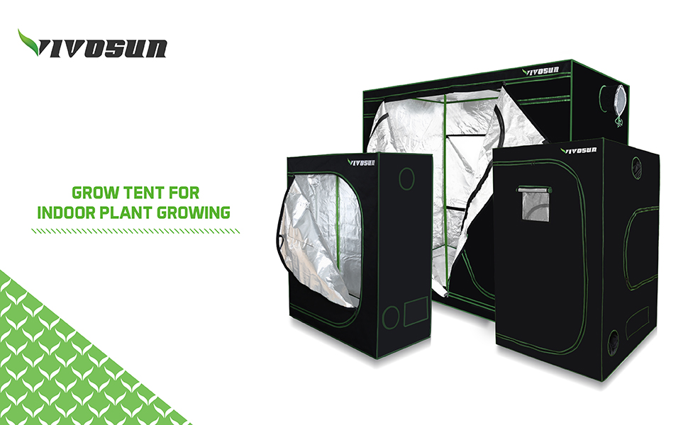Unrivaled craftsmanship and materials make our VIVOSUN grow tent the best choice for savvy shoppers. Note Please be aware that all grow tents even remotely ...  sc 1 st  eBay & VIVOSUN 4u0027x4u0027x6.5u0027 Mylar Hydroponic Grow Tent W/Observation Window ...