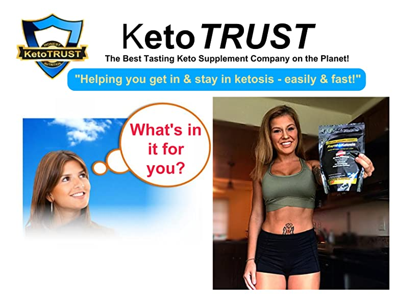 EXTRA STRENGTH RapidKetosis Premium Exogenous Ketone Supplement - LOSING
