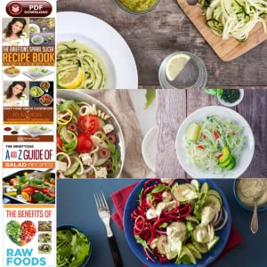 Endless healthy recipes with Brieftons 5 blade spiralizer