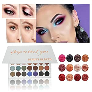 Beauty & Health Shiny Eyeshadow Makeup Naked Palette Natura Easy To Wear Brighten Cosmetics Beauty Tools Portable Palette Maquillage