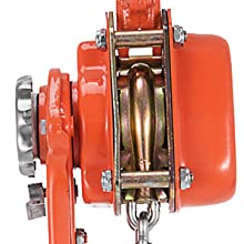 Built-in mechanical load brakes