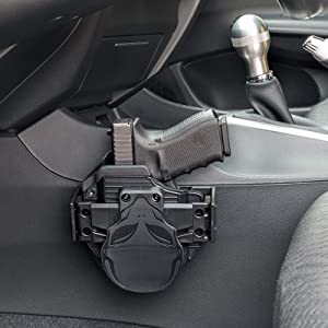 Carry Your Cloak Mod Holster In Vehicle With Ease