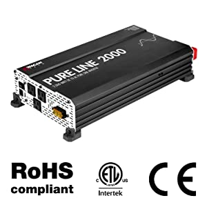 pure line power inverter, pure sine inverter, power converter, ac to dc, dc to ac, inversor