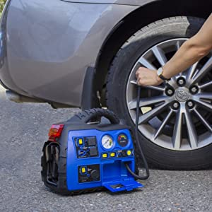 michelin, michelin jumper, michelin booster, michelin jumpstarter, jump starter, battery booster