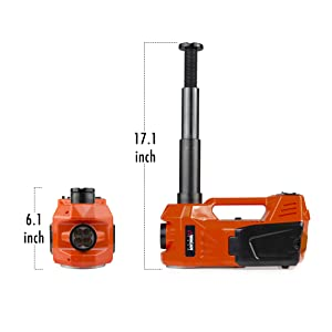 electric jack kit, electric impact wrench, air compressor car