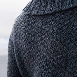 Knit Picks Wool of the Andes Yarn Worsted Medium Sweater Pullover Jumper Texture Seed Moss Stitch
