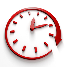 Core Products, Red Clock, Adjust Time