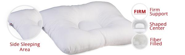 D-Core Pillow, Sleeping Pillow, Neck Pillow, Firm Pillow, Orthopedic