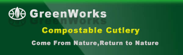 GreenWorks 100% Biodegradable Compostable CPLA 7