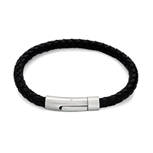 Box #B345 Details about  /Mens Stainless Steel Multilayer Braided Rope Leather Bangle Bracelet