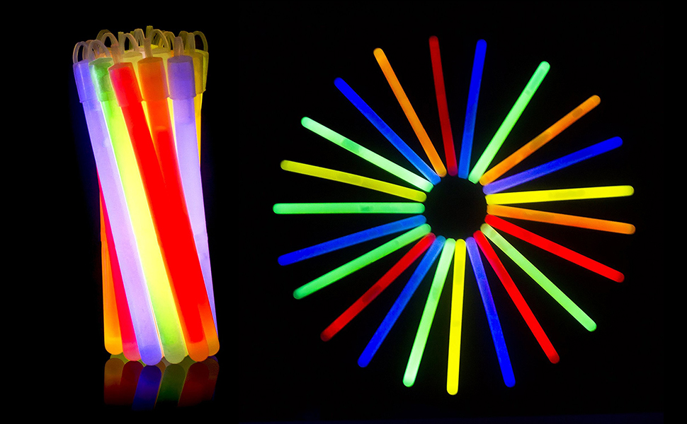Science Museum Long Lasting Glow Bangles Glow