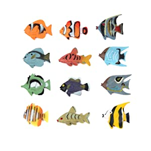 Sea Animal Figures Animal Toys 38pcs Mini Sea Animal Toys Set Realistic Animal S Jade White Toys & Hobbies Action Figures