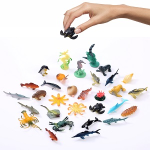 Mini Aquatic Animals, Small Aquatic Animals, Water Party