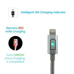 Intelligent LED Charging Indicator
