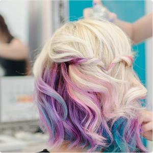 hair chalk hair dye