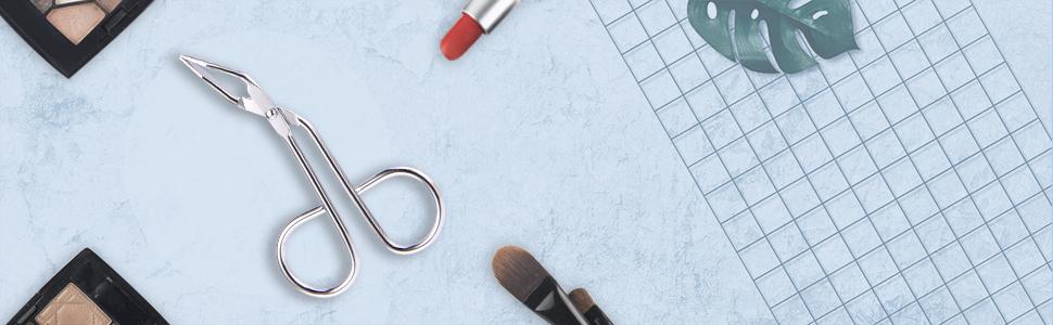 scissors tweezers for eyebrows