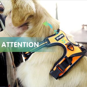 Eagloo Dog Harness No Pull Pet Handle Adjustable Reflective Breathable