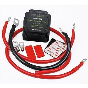 140 amp dual battery smart isolator atv utv. Black Bedroom Furniture Sets. Home Design Ideas