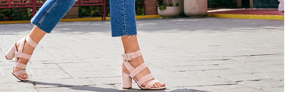 f264ed223e4c Amazon.com  Vionic Women s Perk Blaire Open Toe Heel - Ladies ...
