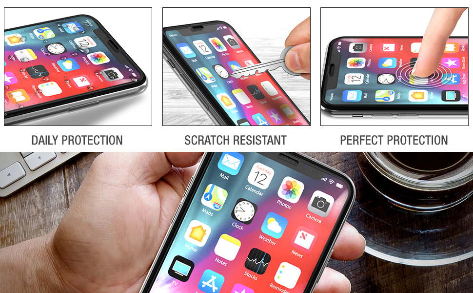 Tethys iPhone 6.5-inches tempered glass screen