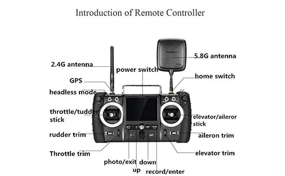 Hubsan X4 drone H501S